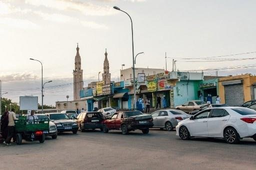 Carmen Abd Ali / AFP  Une artère de la capitale mauritanienne, Nouakchott. (Illustration).
