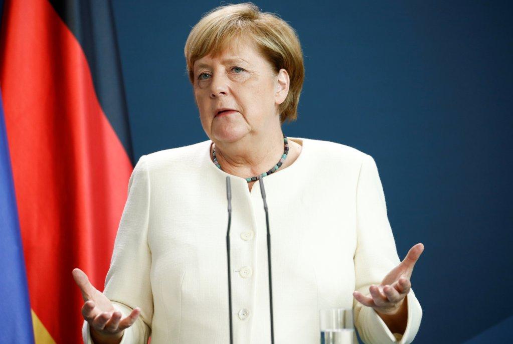 Angela Merkel, le 14 septembre 2020 à Berlin. Crédit : Reuters