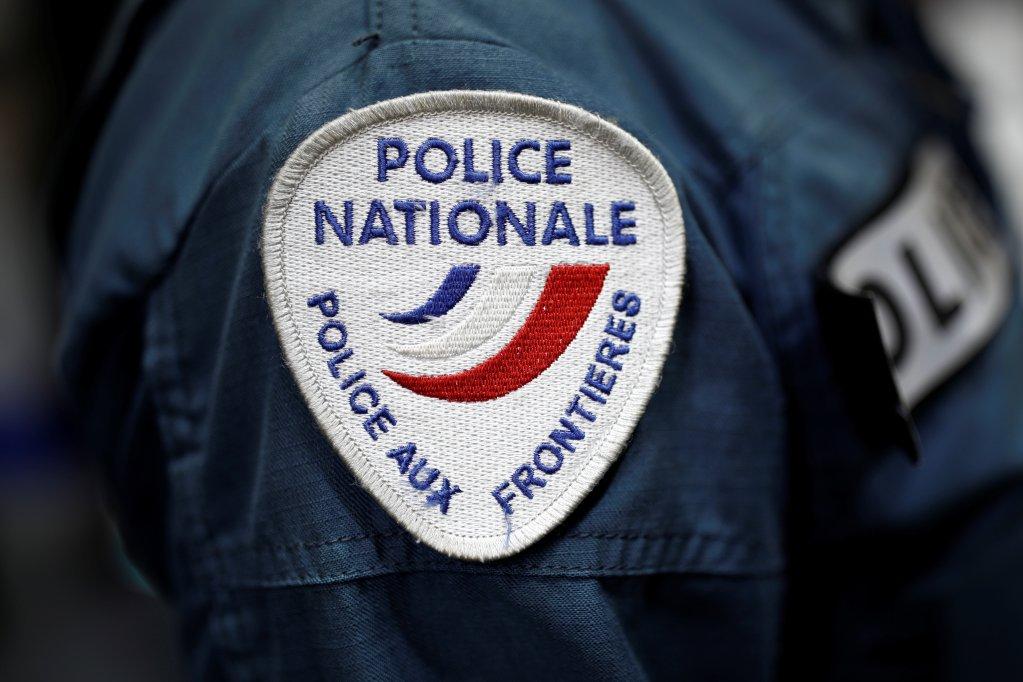 Badge de la police française aux frontières. Crédit : Reuters