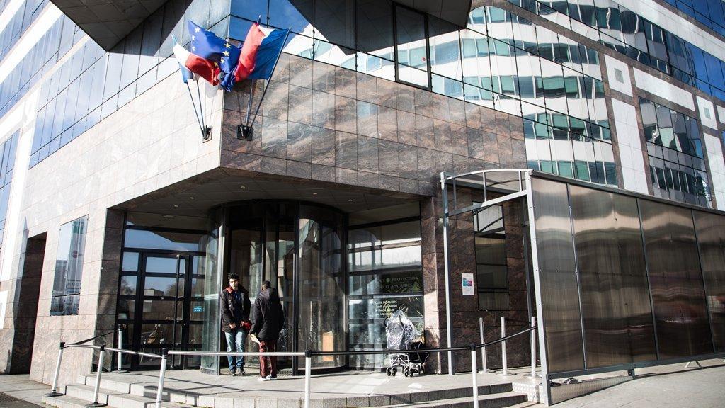 دفتر اداره پناهندگی فرانسه یا اوفپرا در فونتنی سو بوا. عکس از اوفپرا
