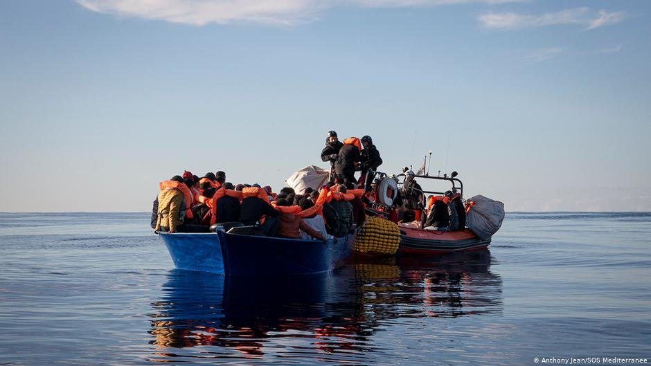 From file: A rescue by the Ocean Viking crew | Photo: Anthony Jean/SOS Mediterranee