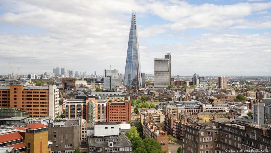 La ville de Londres. Crédit : picture-alliance/dpa/D. Kalker
