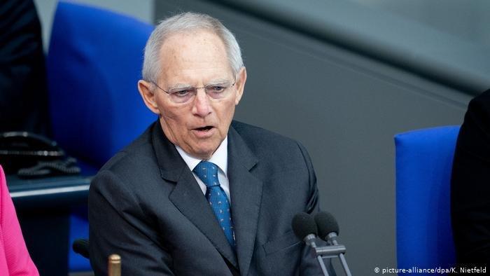 picture-alliance/dpa/K. Nietfeld |رئيس البرلمان الألماني فولفجانج شويبله
