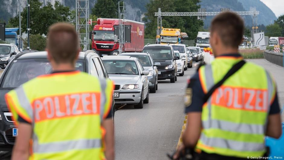 کنترول مرزی میان آلمان و اتریش