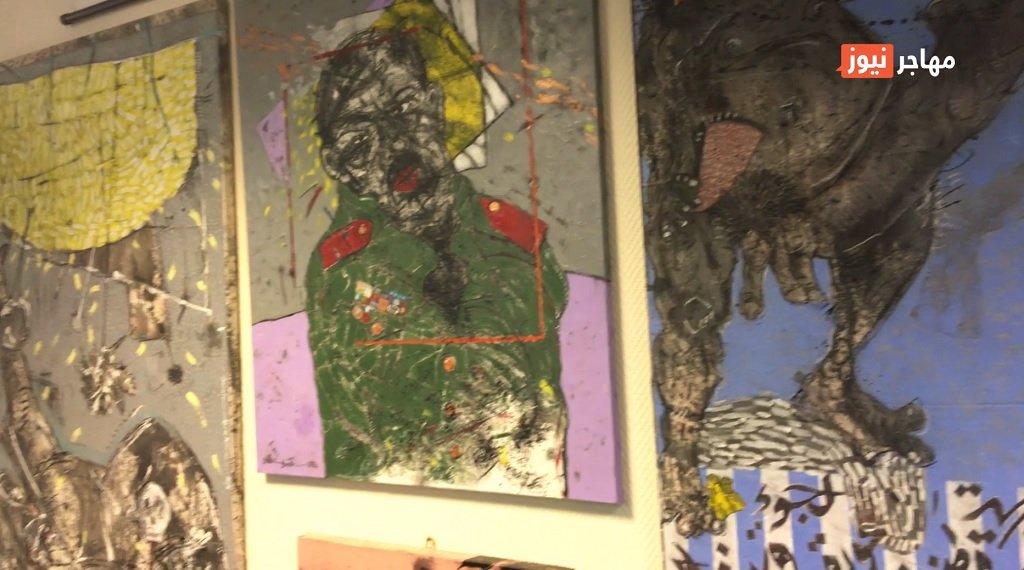 الصورة مأخوذة من الفيديو