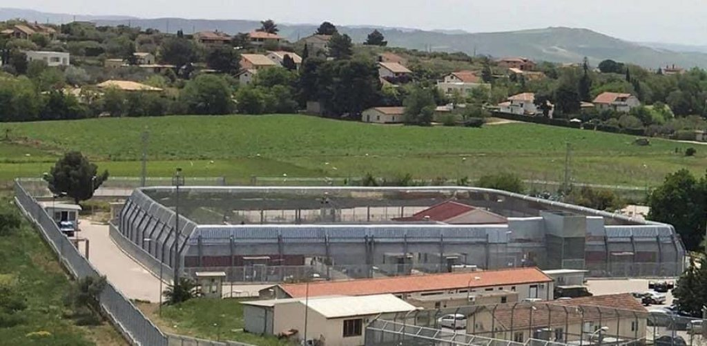 A view of the Pian del Lago migrant reception center in Caltanissetta, from which 184 migrants fled on July 26, 2020 | Photo: ANSA/with permission from Giornale Nisseno