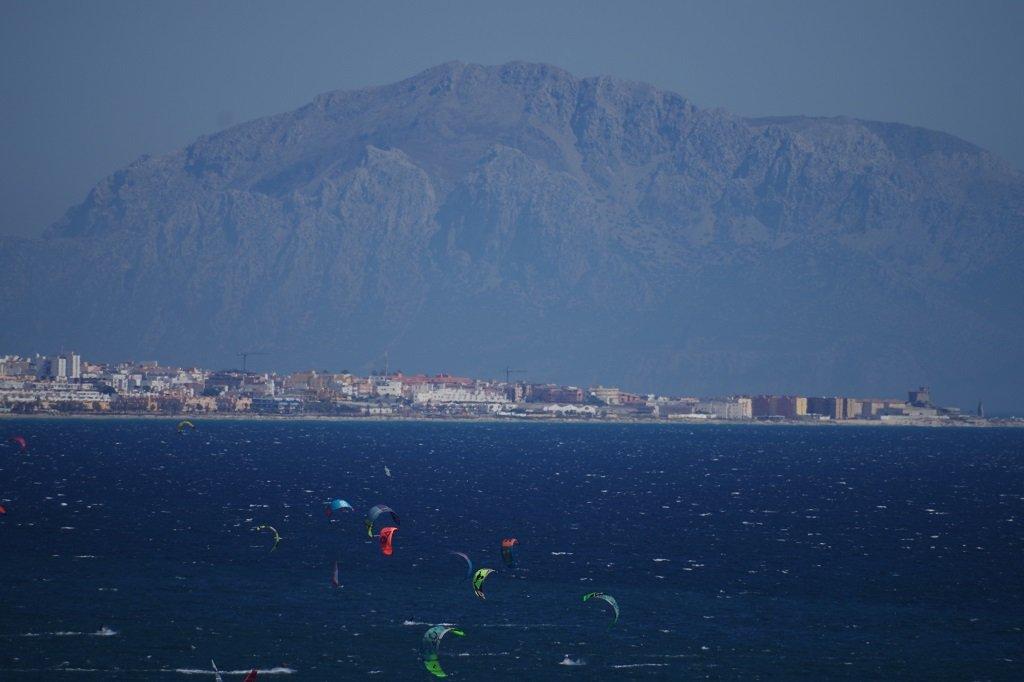 Tarifa, à la pointe sud de l'Espagne. Crédit : RFI