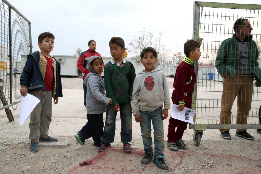 ANSA / يونيسف تدعو أوروبا لتوفيرالحماية للمهاجرين القصر في اليونان.