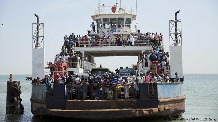 Port de Banjul / Crédit : picture-alliance/AP Photo/J. Delay