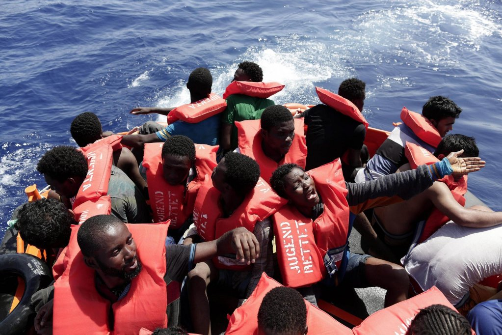 مهاجرون جزائريون/أنسا