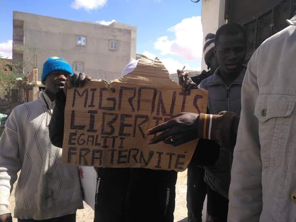 مهاجرون بمدنين / علي وريمي