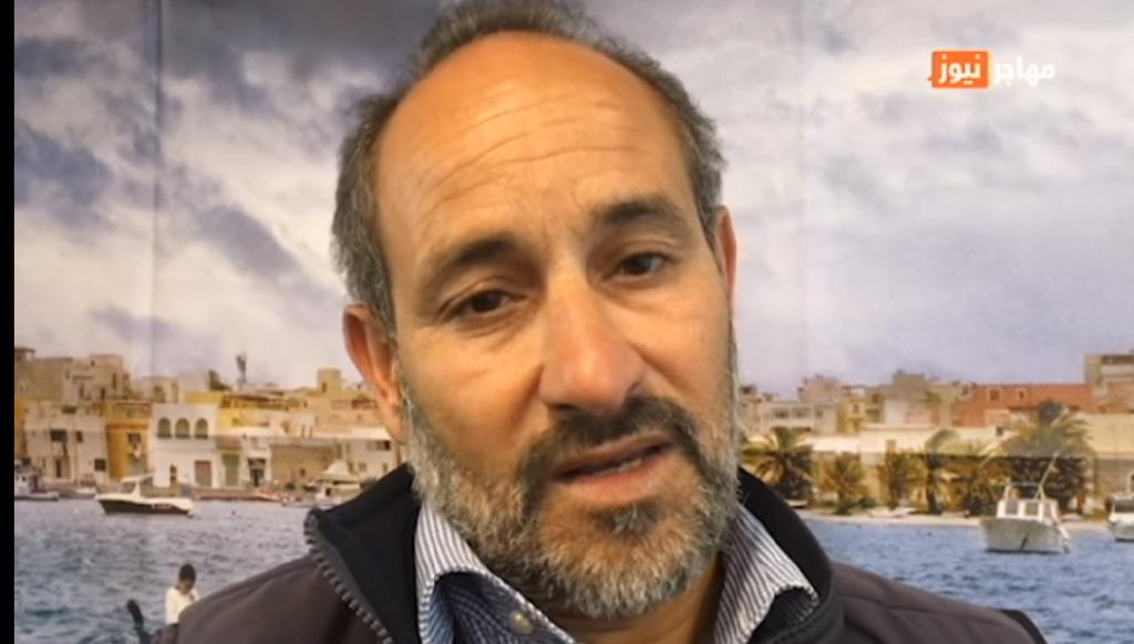 الصياد التونسي شمس الدين مرزوق في مقر مهاجر نيوز بباريس/ بوعلام غبشي