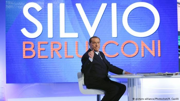 Silvio Berlusconi would like to see 600,000 migrants deported | Credit: DW