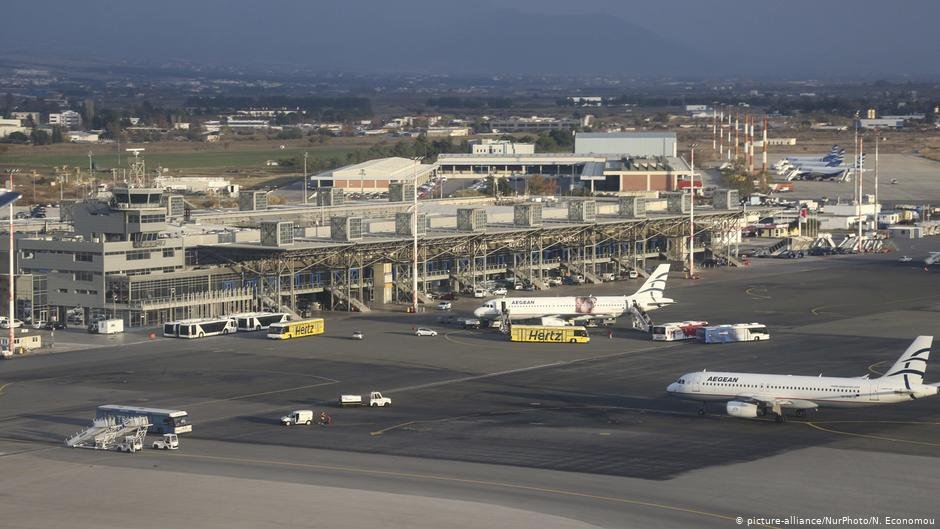 Thessaloniki's international airport | Photo: Picture-alliance/NurPhoto/N.Economou