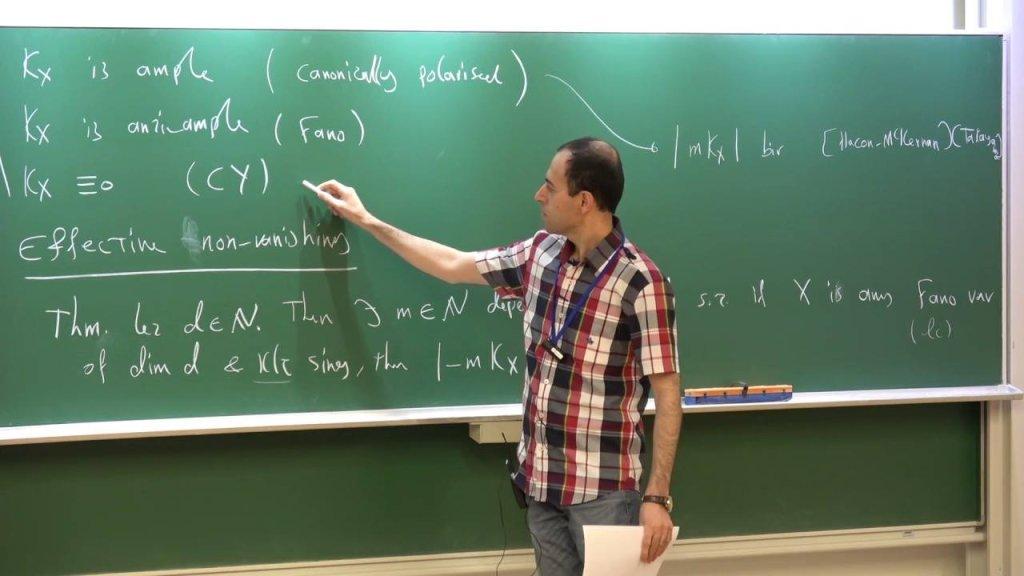 كوجر بيركار عالم الرياضيات البريطاني من أصول إيرانية كردية| مصدر: الحساب الشخصى على Facebook