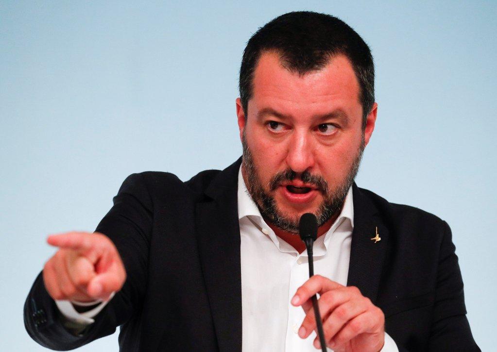 Matteo Salvini réclame des explications de Paris. Crédit : Reuters