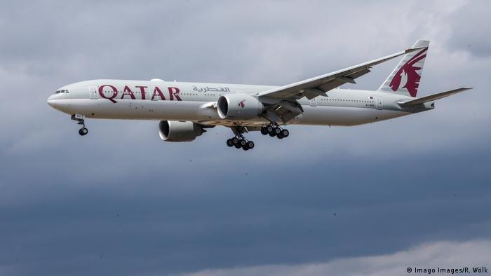 هواپیمای خط هوایی قطر