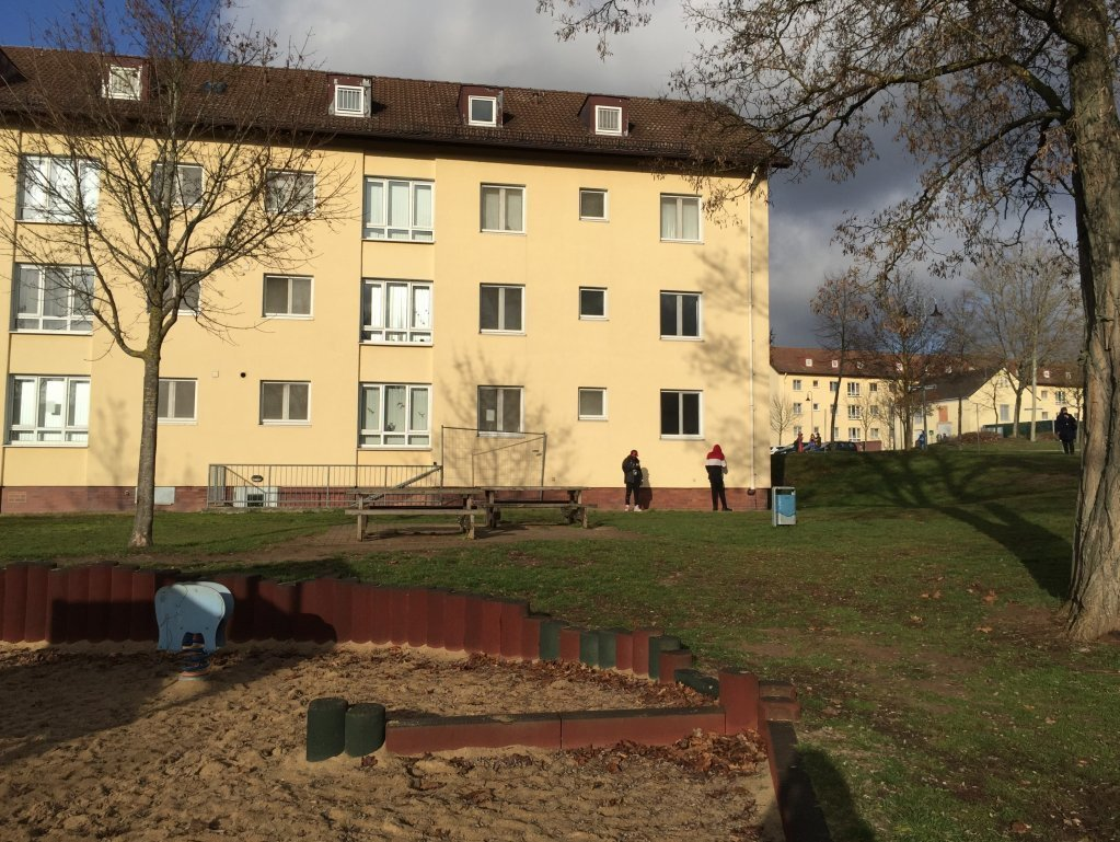 Le centre d'ancrage pour les demandeurs d'asile à Bamberg | Photo: Marion MacGregor