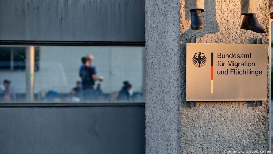 عکس از آرشیف/ یکی از شعبات اداره مهاجرت و پناهندگی فدرال آلمان را نشان میدهد.