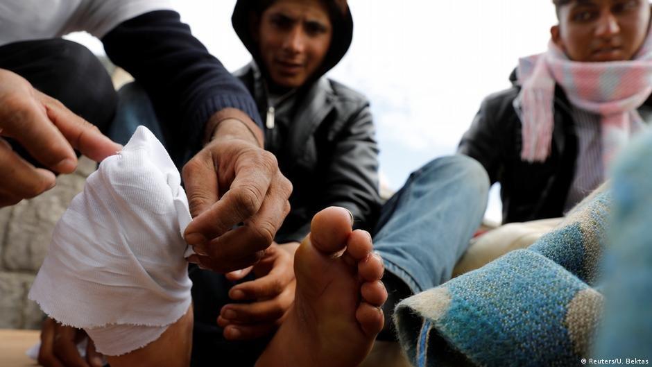 پناهجویان افغان در مرز ایران و ترکیه عکس از Reuters/U. Bektas