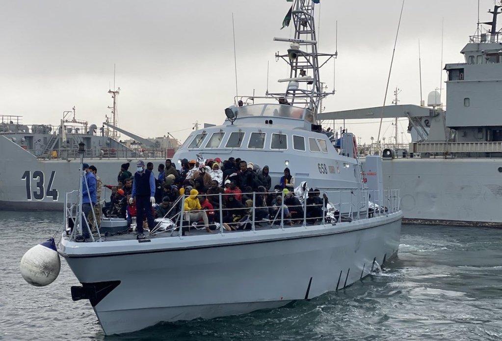 Environ 7 500 personnes ont été renvoyées en Libye depuis le début de l'année. Crédit : OIM