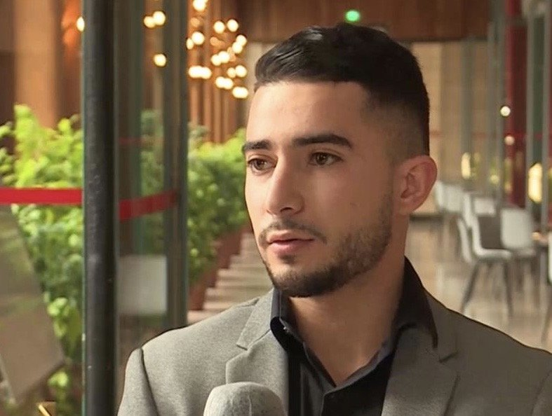 Haroune Khelifati has faced an administrative wall for three years and is now at risk of deportation | Photo: France 3 (submitted by Khelifati)