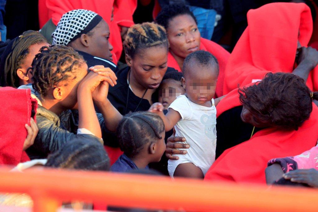 Migrants arrive at the port of Algeciras, Spain | Credit: EPA/A.CARRASCO RAGEL