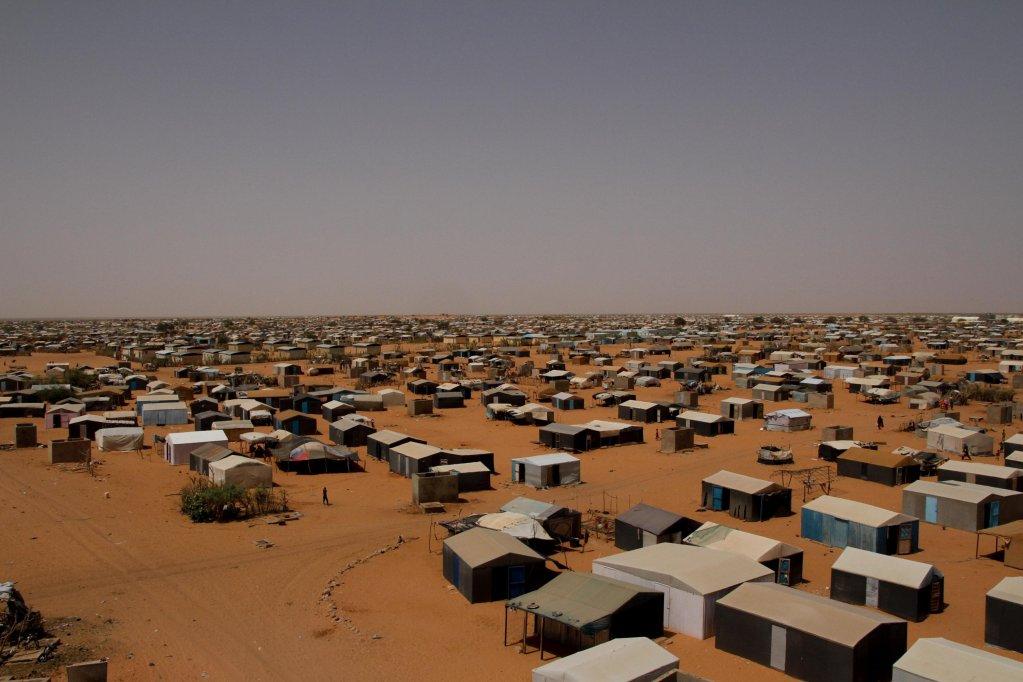 RFI/Edouard Dropsy |Camp de Mbera, en Mauritanie, le 29 mai 2019.