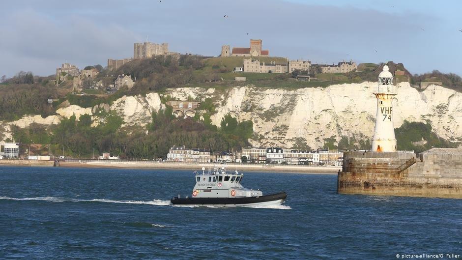 Un nombre croissant de migrants tentent de rejoindre le Kent, sur la côte anglaise. Photo : picture-alliance/G. Fuller
