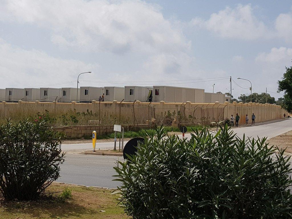 مركز هال فار لاستقبال المهاجرين جنوب مالطا، 14 تشرين الأول/أكتوبر 2019. مهاجر نيوز