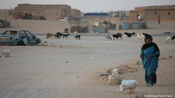 DW/Hugo Flotat-Talon |مخيم اللاجئين الصحروايين في جنوب الجزائر