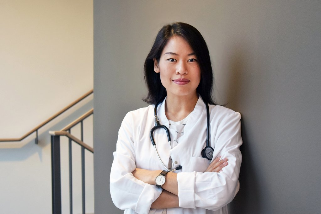 Dr. Sophie Chung, founder and CEO of digital healthcare service Qunomedical | Photo: Qunomedical
