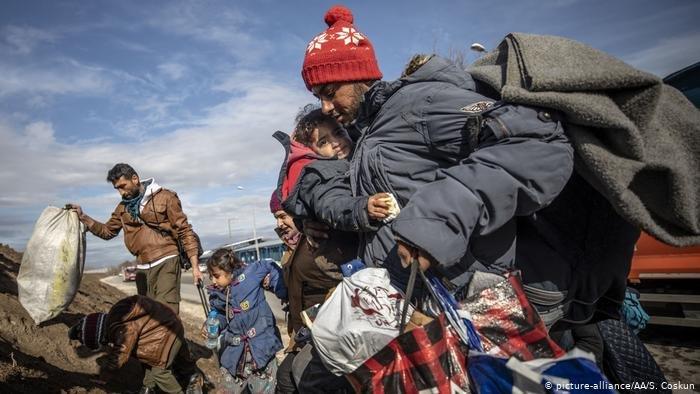 "picture-alliance/AA/S. Coskun |الصليب الأحمر الدولي يستنكر استخدام المهاجرين ""كأسلحة سياسية"""