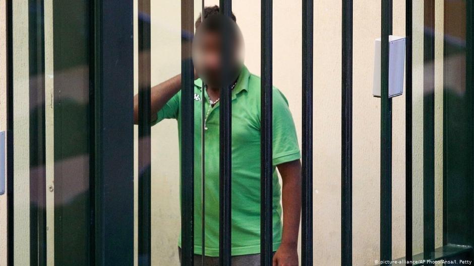 Trial against Medhanie Tesfamariam Behre | Photo: Picture-alliance/AP Photo/ANSA/I.Petty
