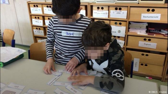 DW/C. Chebbi |أطفال لاجئون، غادرت أسرتهم ألمانيا خوفا من عمل دائرة الشباب والأطفال.