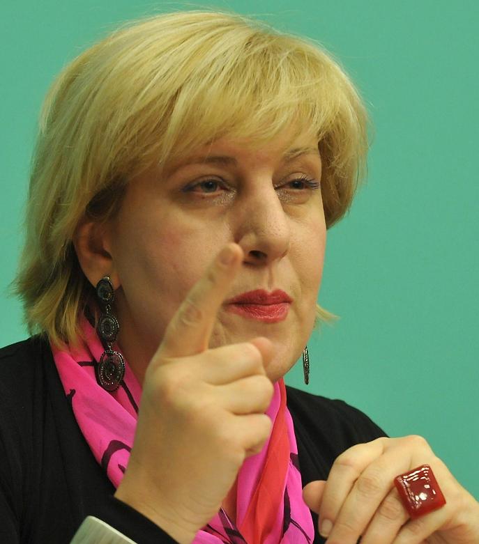 ANSA / دنيا مياتوفيتش مفوضة حقوق الإنسان بالمجلس الأوروبي. المصدر: لاجوس سوس.