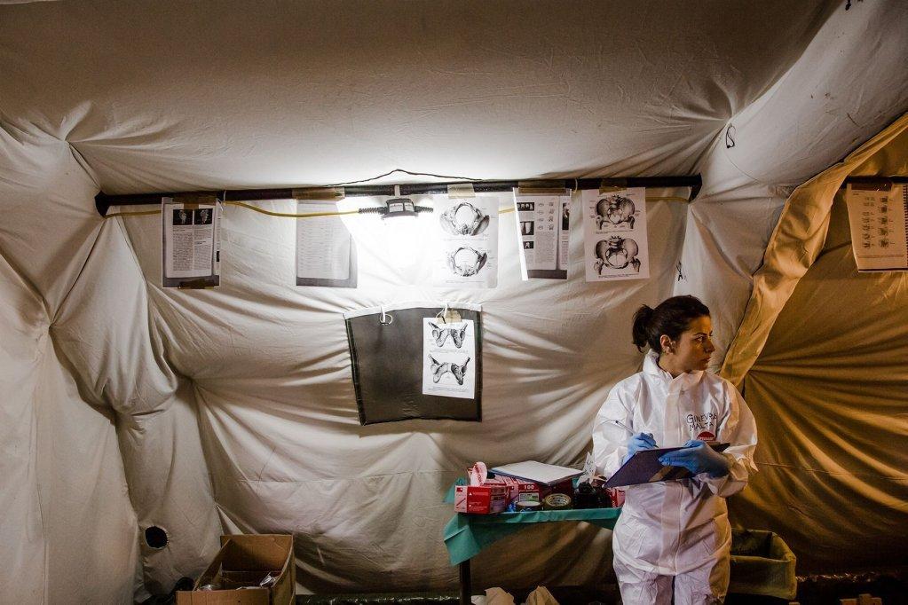 "ansa / ""جثث المهاجرين"".. معرض صور عن ضحايا الهجرة في صقلية"