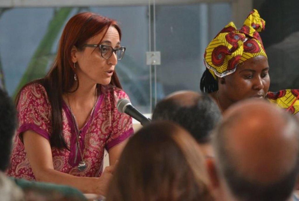الناشطة هيلينا مالينو. المصدر: كاميناندو فرونتيراس\أرشيف
