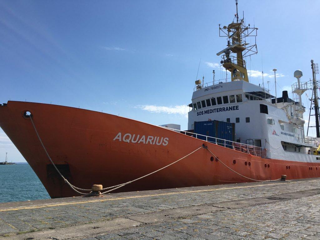 اکواریوس تا کنون در ٢٠٠ عملیات نجات و جستجو در مدیترانه شرکت کرده است. عکس از مهاجر نیوز