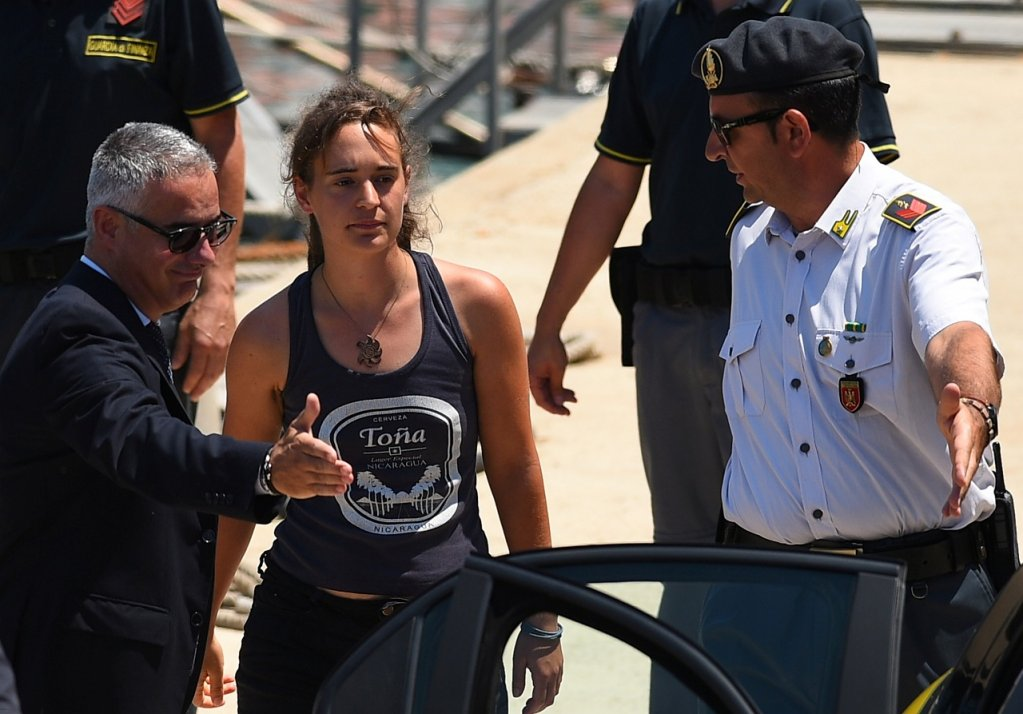 "Despite being in the spotlight following her arrest in Italy last June, Carola Rackete says the real heroes are ""the people we encountered at sea who survived so much more than crossing in an unseaworthy boat."" 
