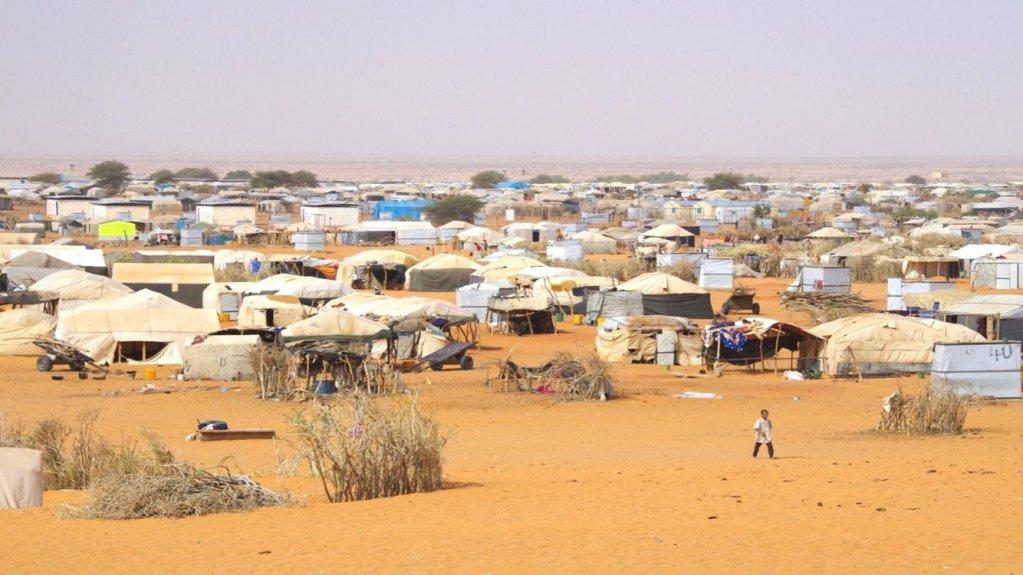 ©CICR |Camp de réfugiés maliens de Mbera en Mauritanie.