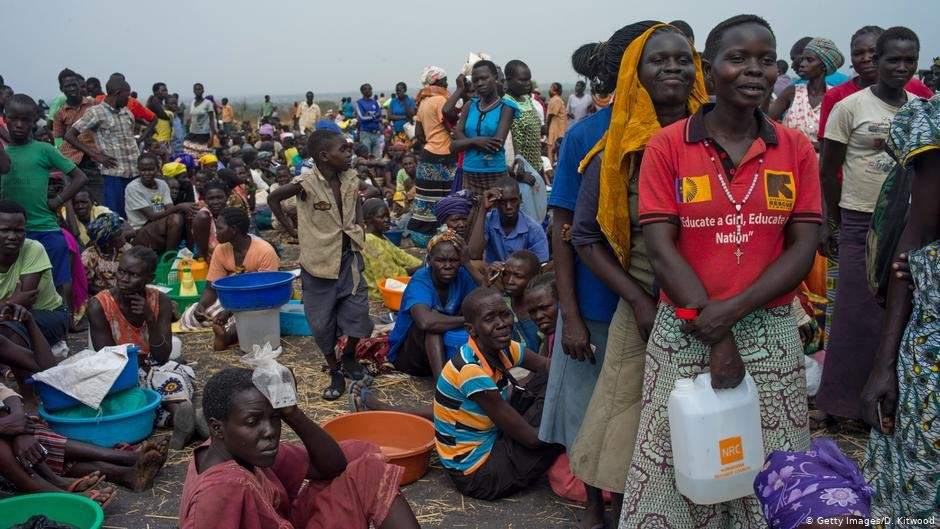 Refugees from South Sudan   Photo: Getty Images/D.Kitwood