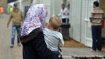 عکس از آرشیف/ سهمگیری کودکان پناهجو در کودکستان ها، روند ادغام والدین شان را نیز سرعت میبخشد.