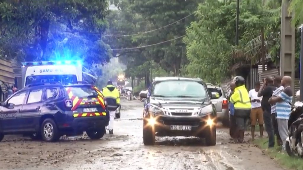 Les violences survenues ces dernières semaines à Mayotte ont conduit à une intensification des expulsions. Crédit : capture d'écran Mayotte la 1ère