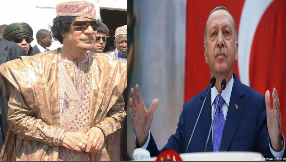 أردوغان والقذافي يجمعها شيء مشترك في ملف الهجرة
