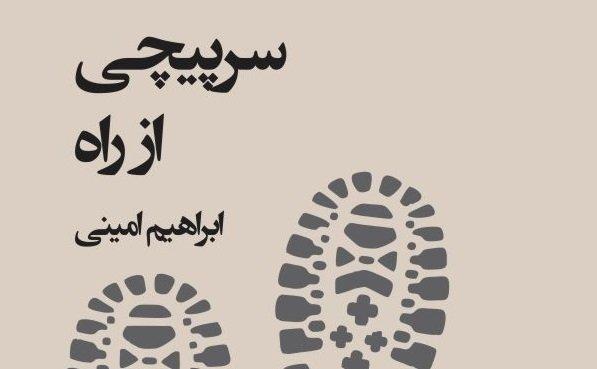 «سرپیچی از راه» تازهترین کار ابراهیم امینی، از شاعران معروف افغانستان. عکس از نبشت.