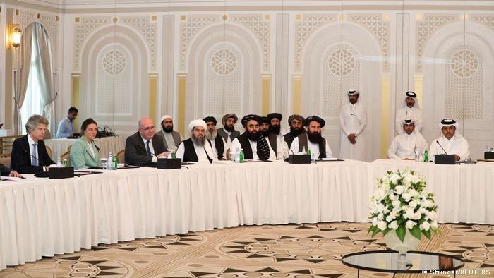 نشست طالبان و ایالات متحده در قطر