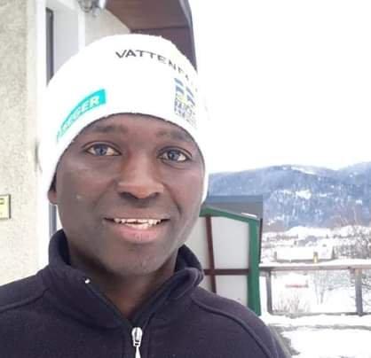 """Mahmoud Diallo s'est dit """"trop content"""" après avoir reçu la protection de la France. Crédit : capture d'écran Facebook"""