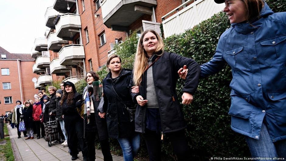 """Des Danois se mobilisent régulièrement contre la """"loi ghettos"""", mais la plupart des partis politiques y sont favorables. Crédit : Picture alliance"""