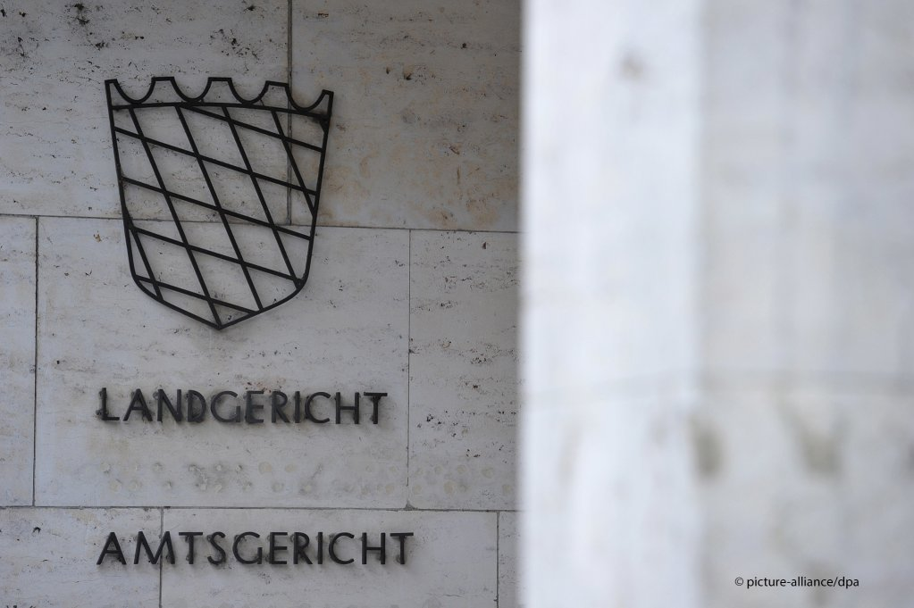 The trial is being conducted at the Amtsgericht Aschaffenburg court | Photo: picture-alliance/dpa